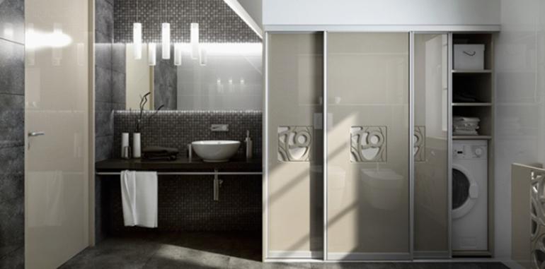 Mała łazienka, jak ją urządzić, fot.: Komandor