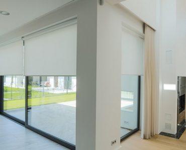 Jak przesłonić duże okna?