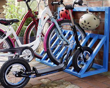 Jak samodzielnie zrobić stojak na rowery?