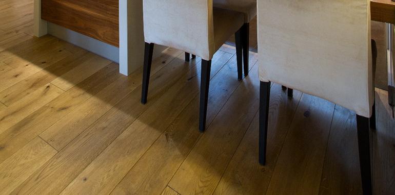 Jak dbać o olejowaną podłogę? fot.: Kaczkan