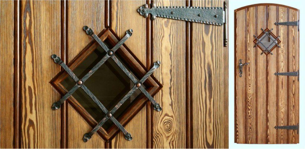 Drzwi drewniane sosnowe – przykładowa realizacja firmy Dubiński