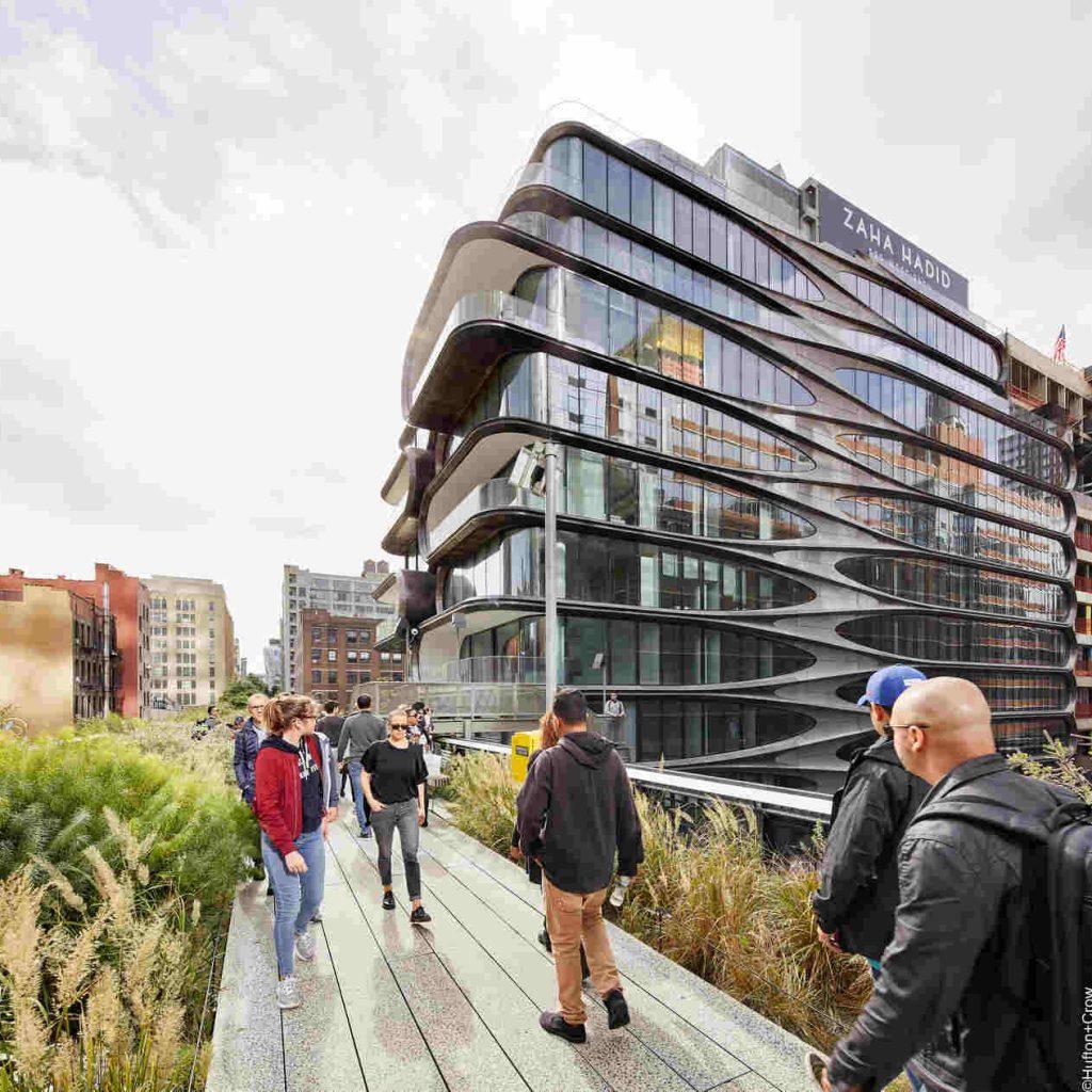 Budujemy miasta przyszłości – Fasady elementowe WICONA w apartamentowcu 520 West w Nowym Jorku