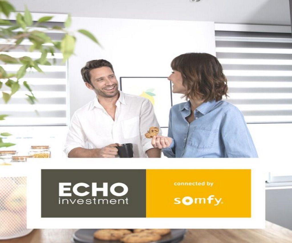 Tylko do końca sierpnia do wygrania 3 000 zł na wyposażenie mieszkania – wystartowała akcja Echo Investment i Somfy