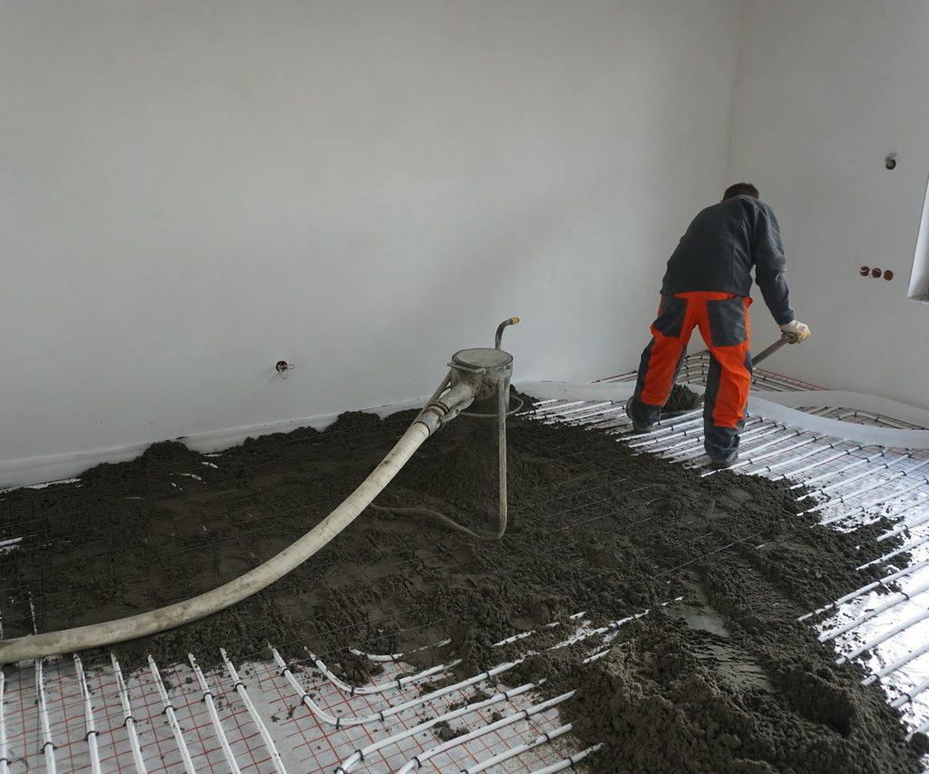 Podkład podłogowy- element podłogi decydujący o jej trwałości